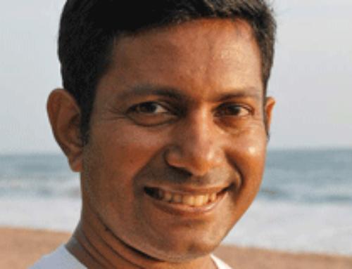 Sanjeewa Jayabandu – General Manager und Yoga/Meditations-Guru im Shunyata Villa