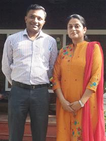 Dr Manu and Dr Smitha